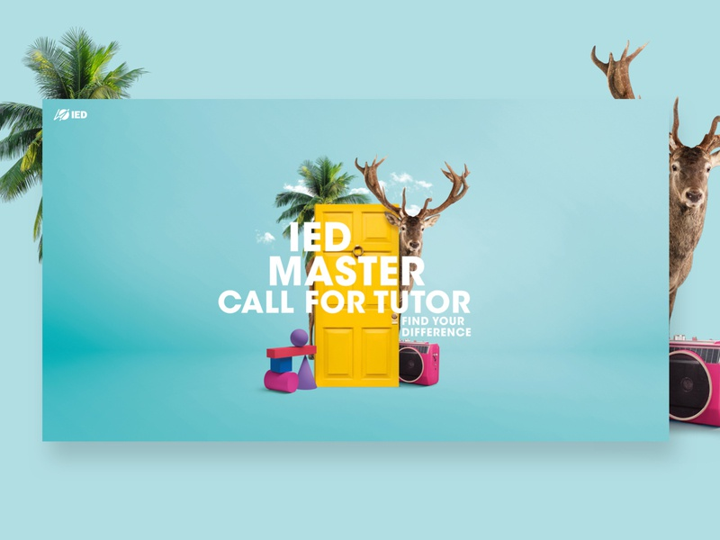 IED photoshop postproduction campaign advertising branding design