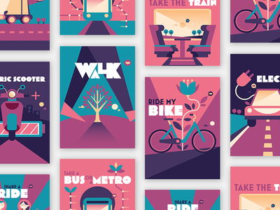 Race To Change typography design illustration