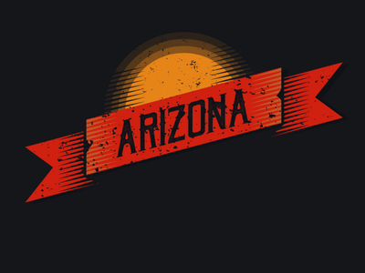 ARIZONA logo typography