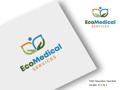 Medical & Pharmaceutical caring medical care graphic design logo design