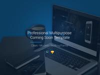 Professional Multipurpose Coming Soon Template