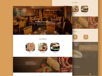 Restaurant Leanding Page Template