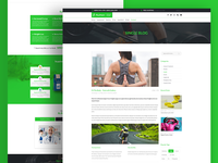 Plus Point Natural Health Psd Template