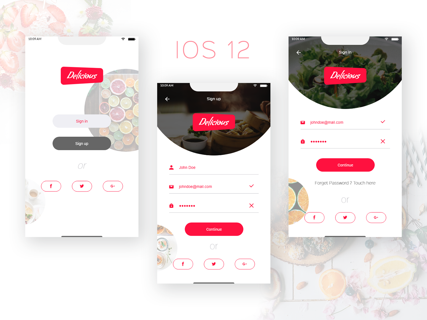Delicious Food Splash Screen By Sabbir Ahmed Dribbble Dribbble