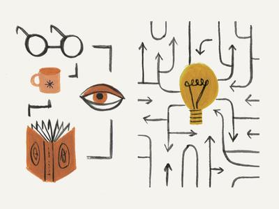 Computer Arts Illustrations