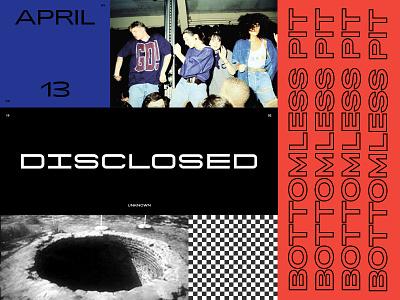 90s Rave Poster underground dance brutalist brutal poster rave 90s