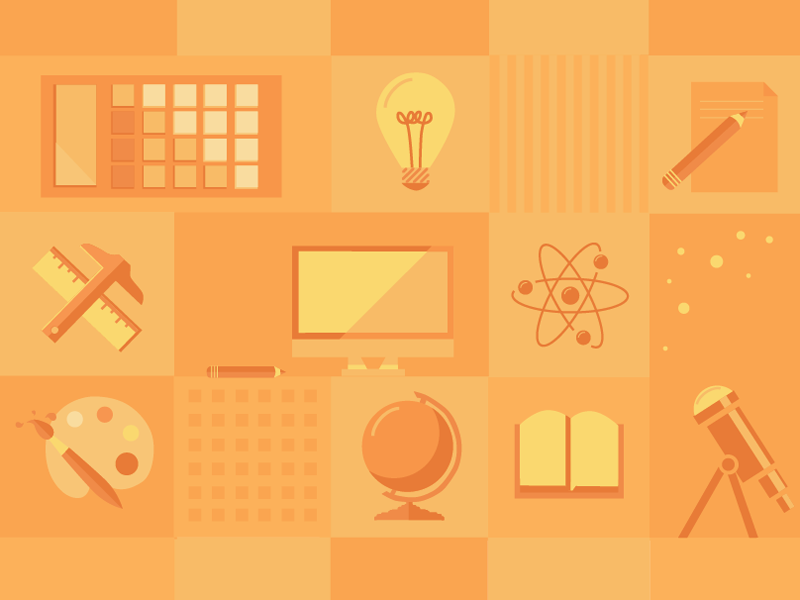PURCC Icons icons research conference science writing illustration design