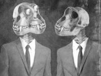 Sci Fi Monkey Ghosts