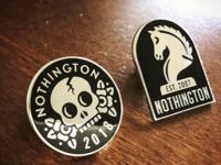 Nothington Enamel Pin Set
