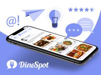DineSpot app social media image
