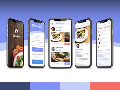 DineSpot Screens
