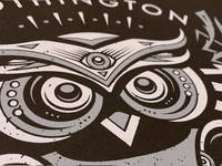 Owl Poster Close Up