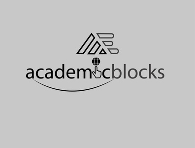 academicblocks logo 5 vector logo icon illustration design logo design