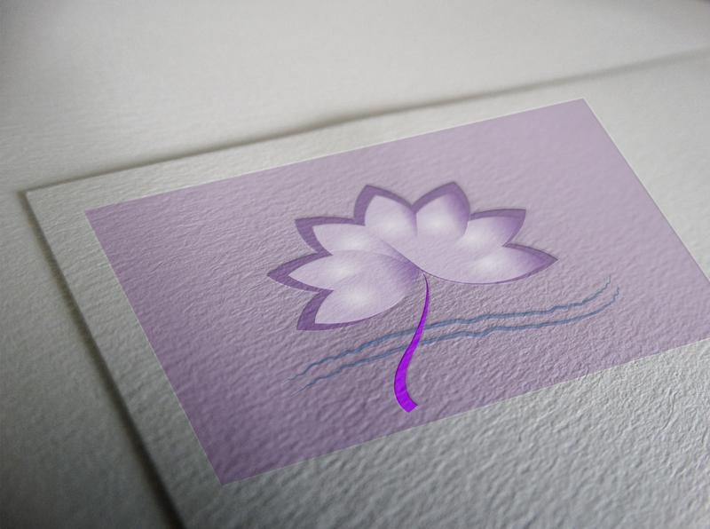lotus  flower icon photoshop illustration logo design lotus design