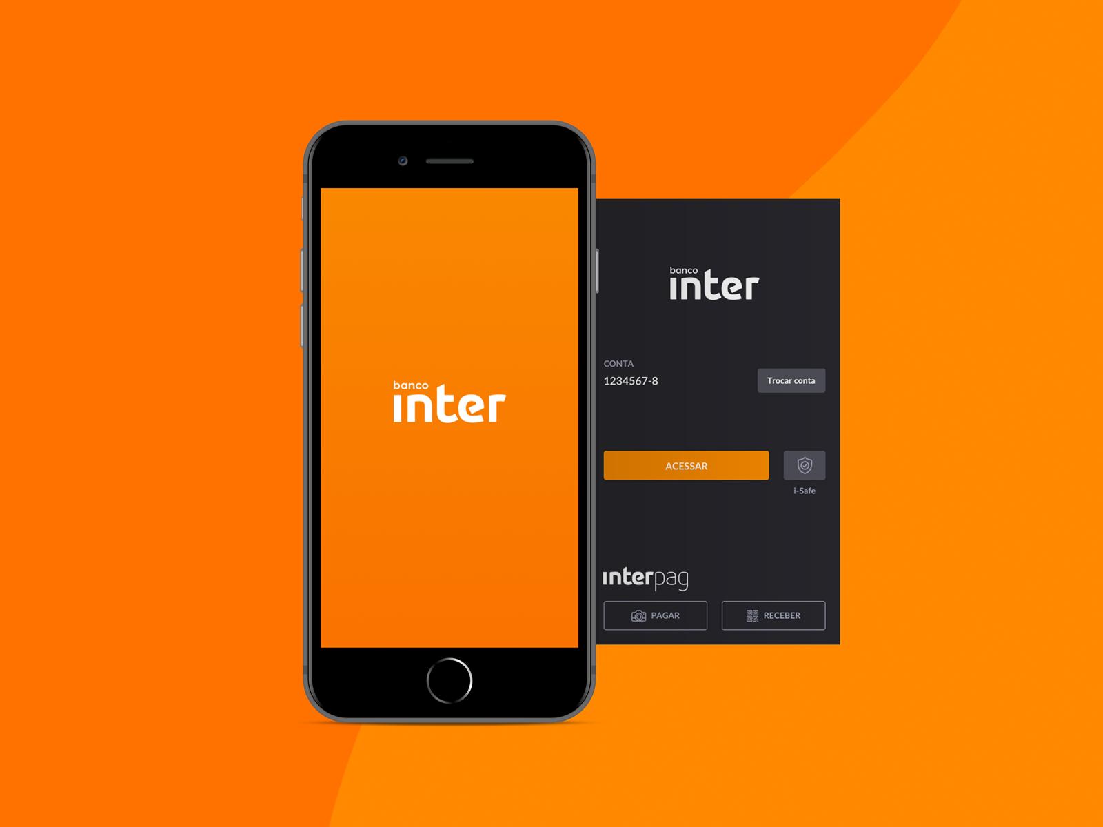 Banco inter app redesign