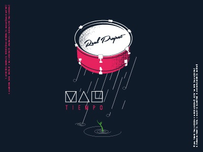 Cover Real Projet weather bad drum rain cuba jazz