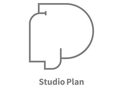 Studio Plan graphic design studio logo design logo