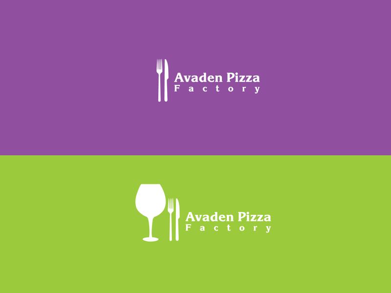 Pizza Logo, Restaurants Logo, Food Logo colorful logo minimal colerful logo flat logo minimalist logo brand design brand identity branding logo logo design graphic design pizza logo