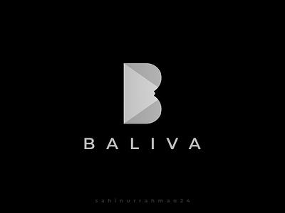 Baliva Logo Design by Shahinur Rahman baliva balivalogo clean character art 3d website animation minimal flat web app icon typography ux vector branding ui logo illustration