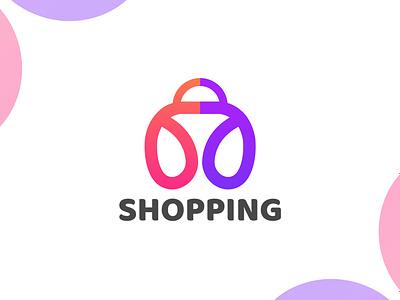 Shopping Logo typography animation creative shop logo brand identity art logos vector illustration minimal brand design design shopping logo minimalist logo ecommerce ecommerce logo branding logo design logo graphic design