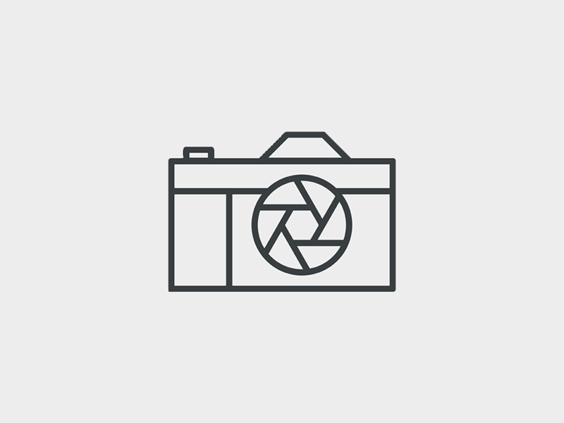 Camera icon by kirrie rodgers dribbble dribbble for Camera minimal