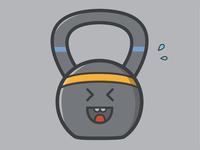 Exercising Kettlebell