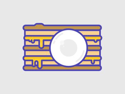 Grilled Cheese Mirrorless Camera