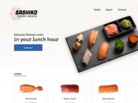 Sashiko Sushi Website