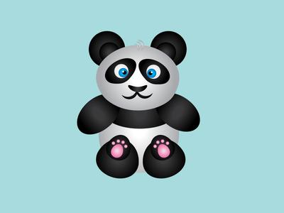 panda panda animals vector vectorworks vector art drawing vector illustration illustration illustrator graphicdesign art
