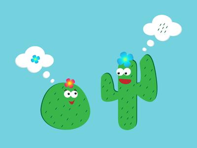 cactus cactus plant creative vectorart vectorworks drawing vector art vector illustration illustrator illustration graphicdesign art