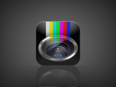 Cameravision iphone app icon design