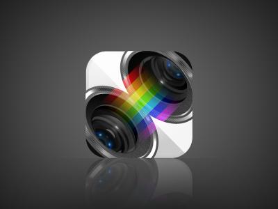 Mirrorscope iphone app icon design