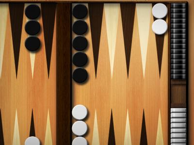 Backgammon illustration game