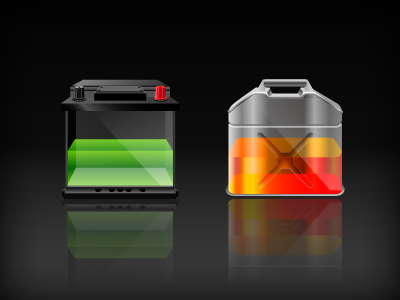 Fuel illustration icon