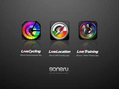 Live App Icons iphone app icon design