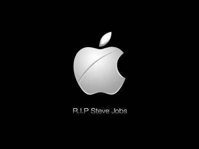 R.I.P Steve Jobs apple boot logo