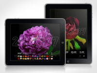 Bloomclock Retina iPad App