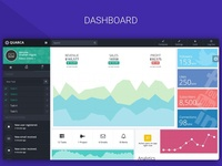 Quarca - Bootstrap Dashboard Template