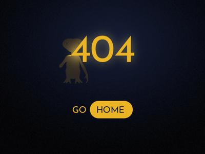 E.T. Go Home error page 404