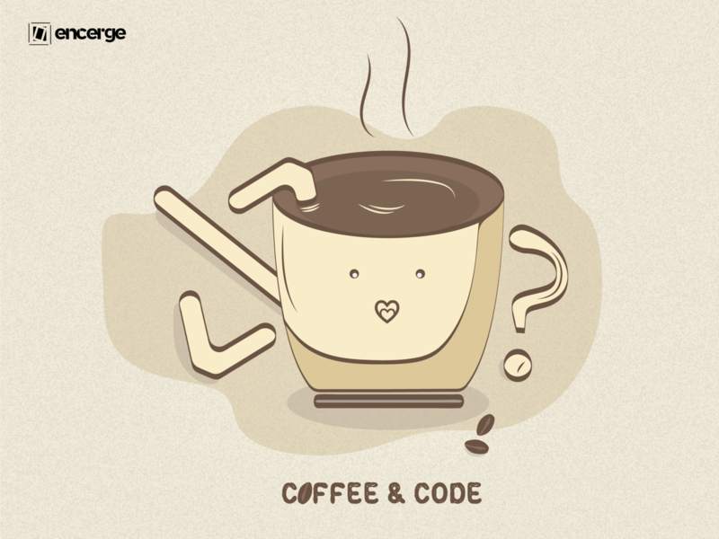 Code Over Coffee graphicdesign graphic design doodle art doodling doodleart doodle vector design programmer illustration programmer illustration coding illustration coding codeart code coffee cup coffee