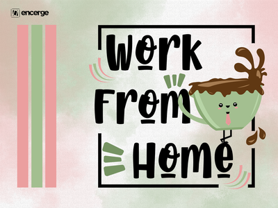 Work From Home with Coffee Artwork t-shirt illustration t-shirt design t-shirt vector doodle art doodle graphic design illustration art graphicdesign design illustration work and coffee coffee working work work from home