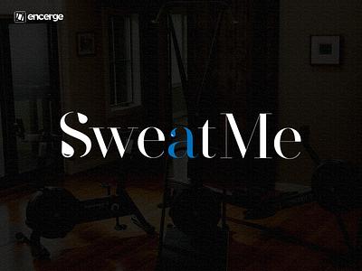 SweatMe Logo Design typography branding brand identity brand design graphic design graphicdesign design logo design logodesign logo