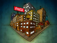 Little City Illustration