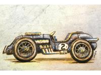 Retro Racecar