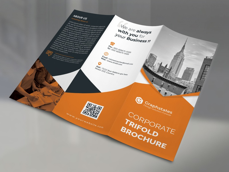 Trifold Brochure Design flyer design corporate branding corporate business card brochure businesscard brochure design corporate flyer bifold brochure trifold brochure