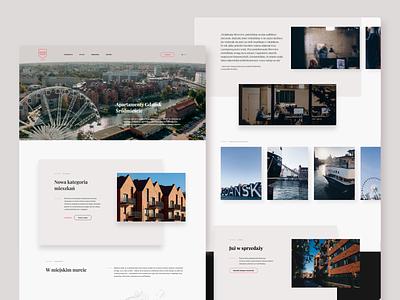 Riverview   compound in the Old Town of Gdańsk   website logo design branding app website web ux ui mobile boldshift