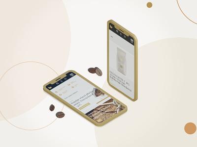Darboven | Coffee&Tea | e-commerce boldshift ui ux web website mobile app