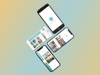 Bermuda - UX / UI Design designing graphic designer travel agent travel app travel xd adobe xd ux design application bermuda web design graphics app design app uxuidesign ux ui