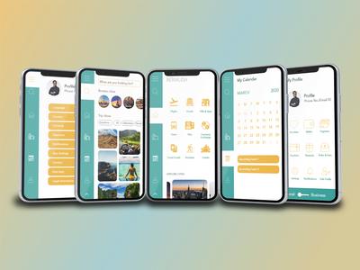 Bermuda - UX / UI Design app designer app design travel planning plan trips explore home page travel app travel application ux ui uiux ux design uidesign graphic graphicdesign
