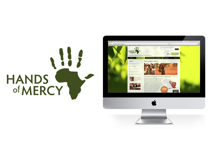Hands of Mercy Brand Identity logo logo design brand identity